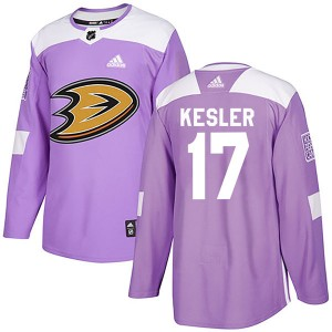 Ryan Kesler Youth Adidas Anaheim Ducks Authentic Purple Fights Cancer Practice Jersey